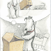 Author/illustrator Mark Teague's Box-Savvy Pooch.