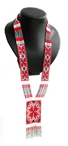 гердан гайтан браслет славянский орнамент Anabel