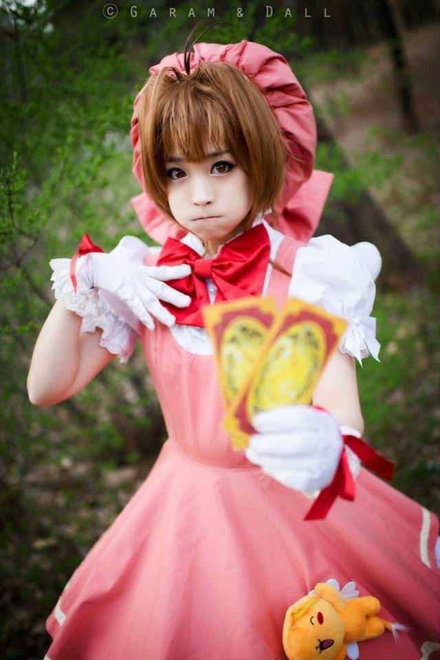 Tomia cực dễ thương với cosplay Sakura - Ảnh 11