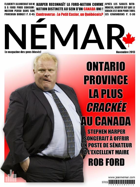 Jean Némar de Rob Ford et du Canada