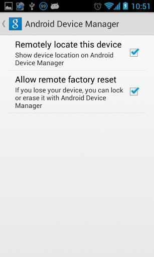 menggunakan android device manager untuk mengamankan hp
