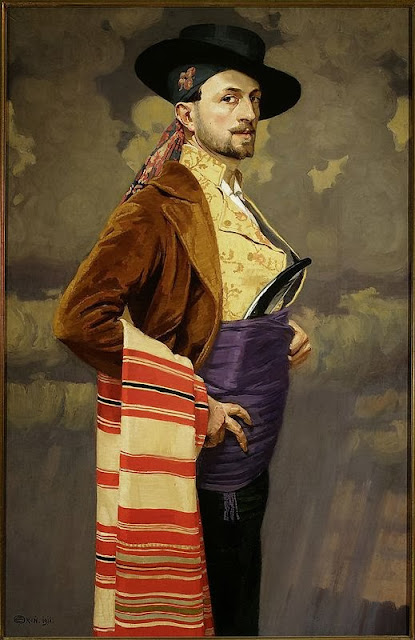 Edward Okun - Autoportret 1911