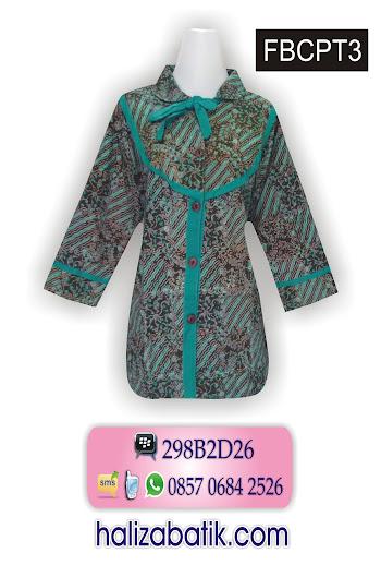 contoh motif batik, baju batik kantor, gambar baju batik modern