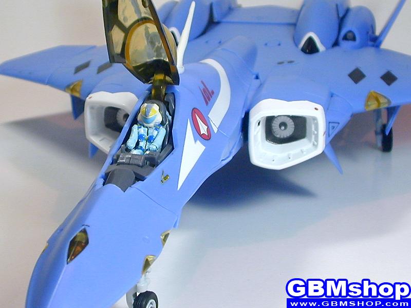 Macross 7 VF-22S Sturmvogel II Maximilian Jenius Custom Fighter Mode