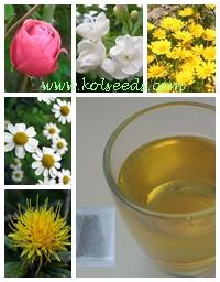 ชาดอกไม้ 5 ชนิดใน 1 ซองชง