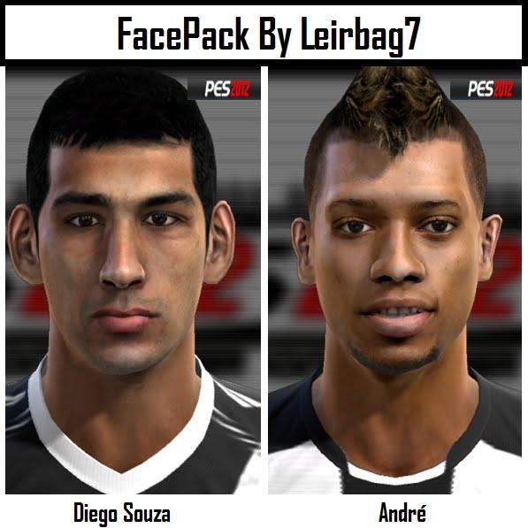 Diego Souza e André Faces - PES 2012