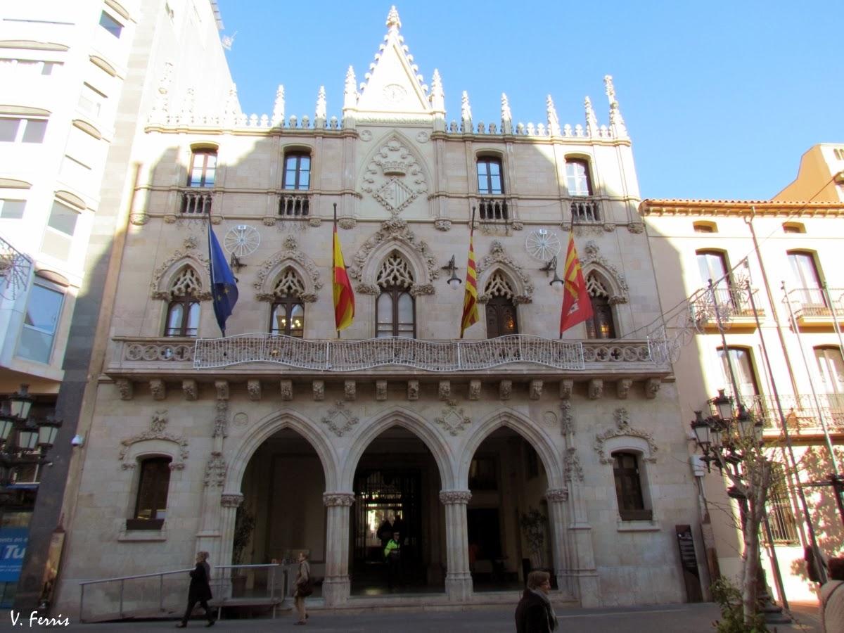 Ajuntament de terrassa barcelona modernista - Arquitectos terrassa ...