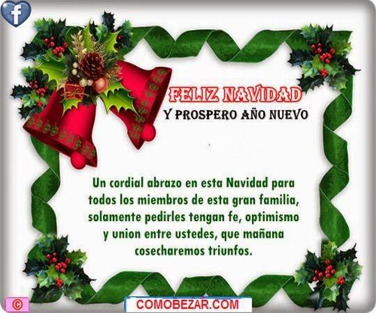mensajes hermosos de navidad para amigos