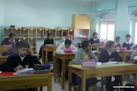 À l'école siryaque de Beit Jala (Bethléem)