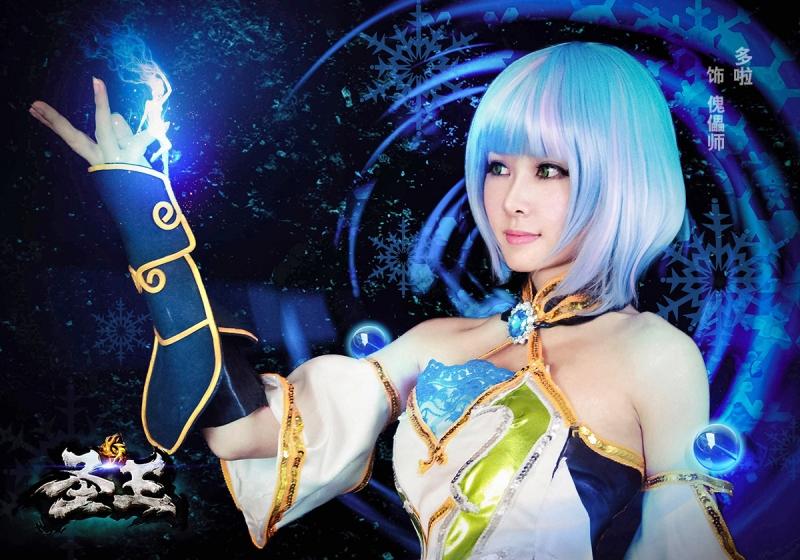 Perfect World khoe cosplay Thánh Vương cực gợi cảm - Ảnh 2