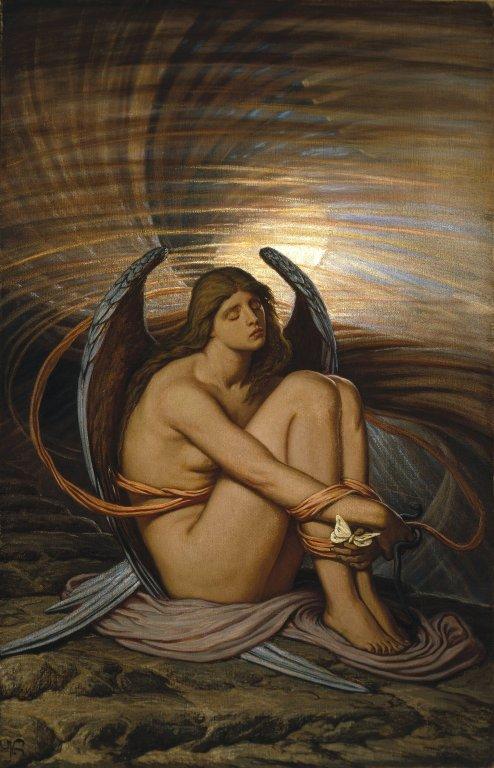 Elihu Vedder - A Soul in Bondage
