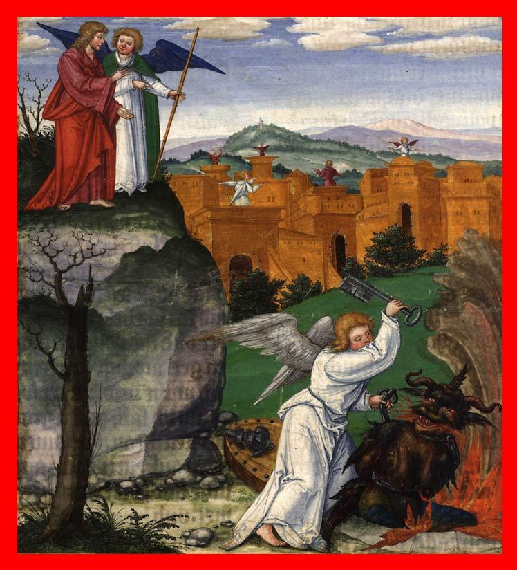 Сцена из АПОКАЛИПСИСА Иоанна Богослова. Свободное изображение портала ПАЛОМНИК