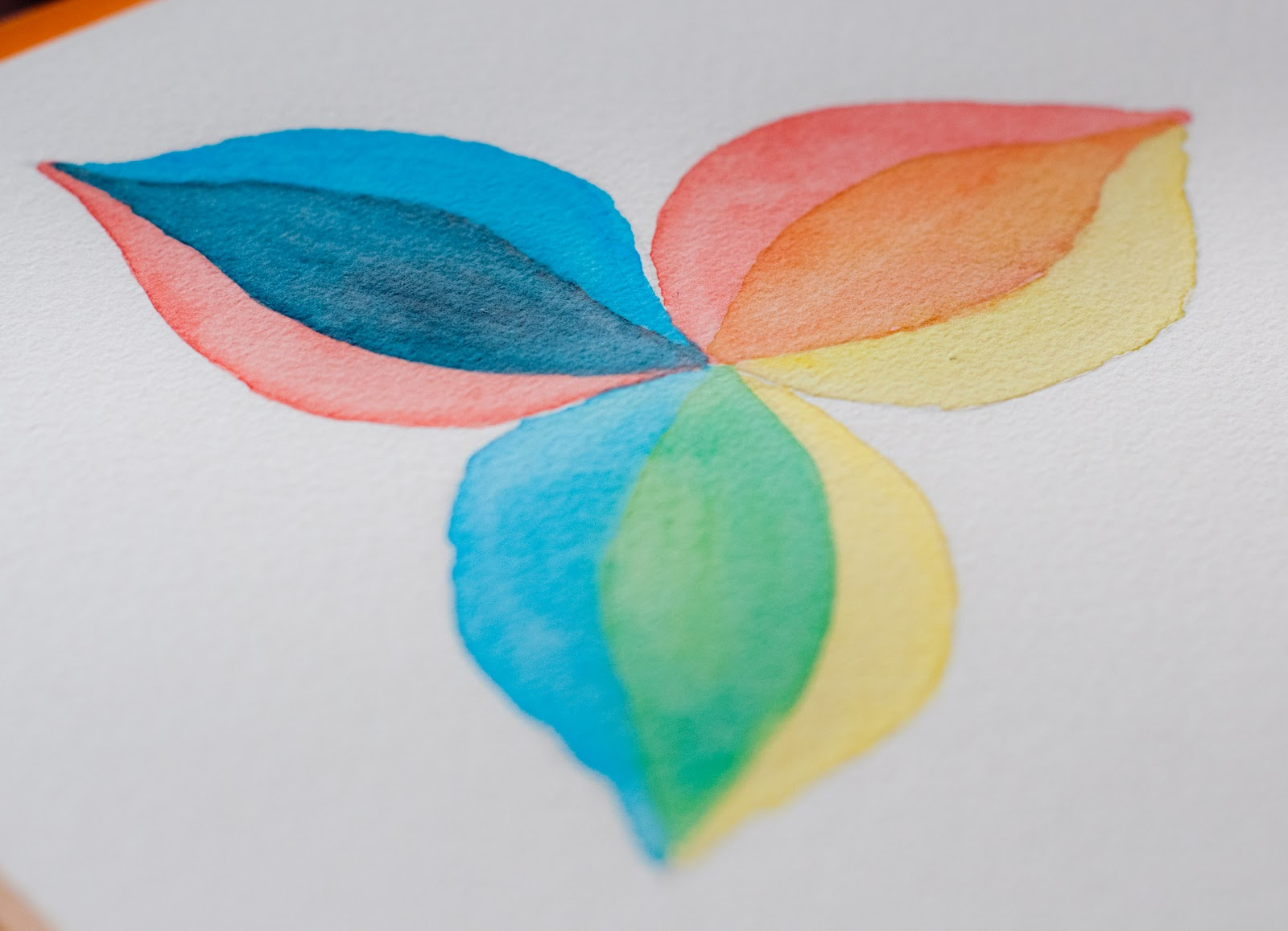 papelidades: Pintar con Acuarelas: Acuarela Seca.