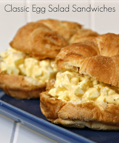 Classic Egg Salad Sandwiches - this egg salad recipe is easy and delicious.