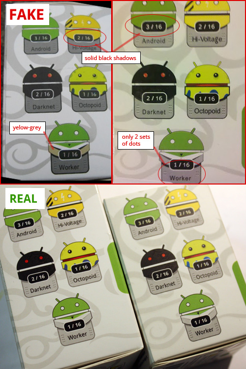 Juntura Androide falso