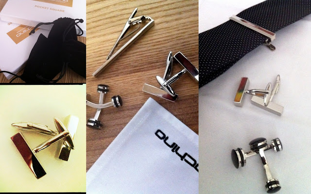 Indochino Accessories - Tie Bar Cufflinks