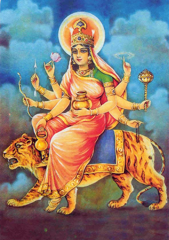Maa Kushmanda – The Fourth Aspect of Navadurgas