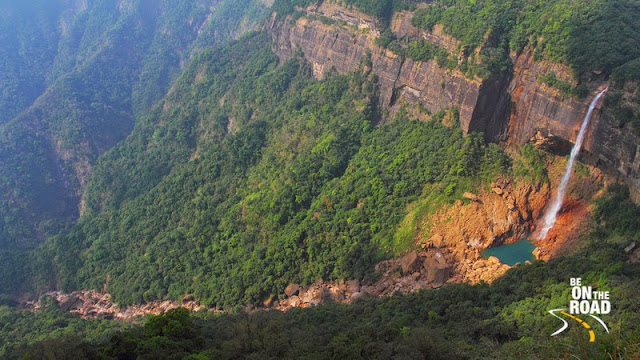 Cherrapunji's scenic waterfalls