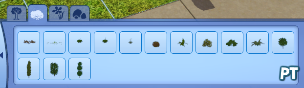 Sims 3 overzicht struiken