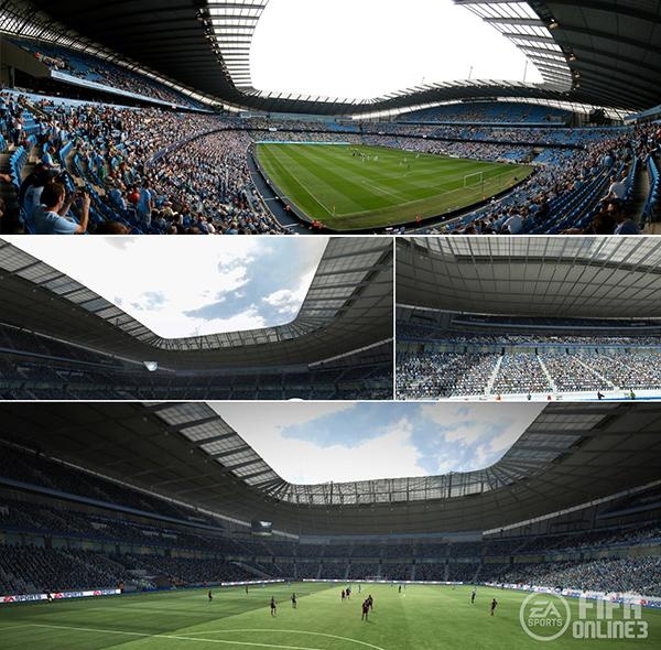 Chiêm ngưỡng các sân vận động trong FIFA Online 3 3