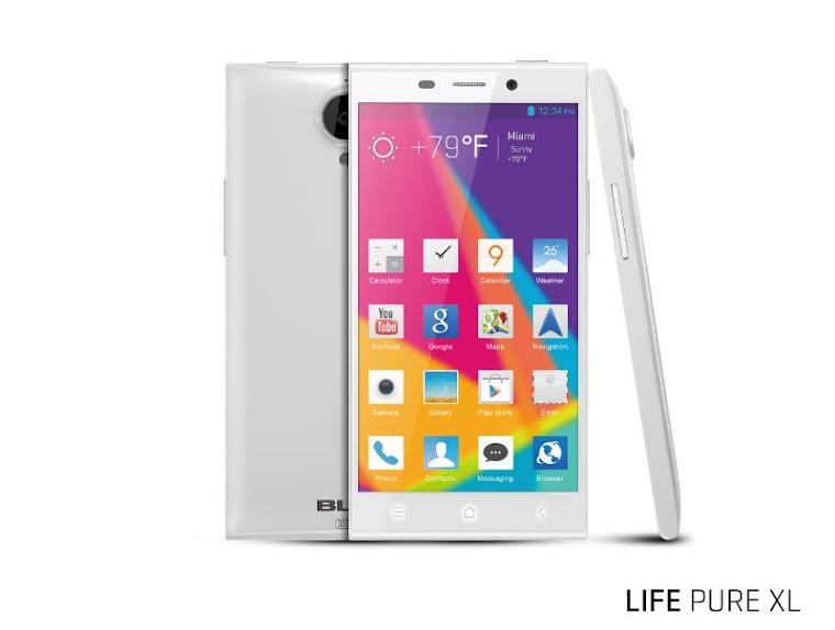 BLU Life Pure XL - Spesifkasi Lengkap dan Harga