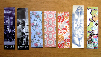 free Foyles and Persephone bookmarks