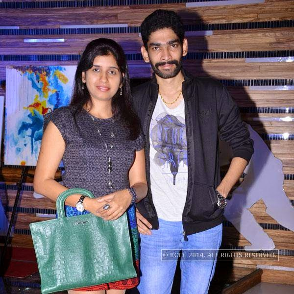 Nanda and Wajid during an event called A New Perspective on Creativity, held at Le Meridien in Bangalore. <br /> <br />