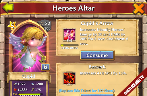 Account castle clash Have Pumpkin cupid Thunder God Druid Champion