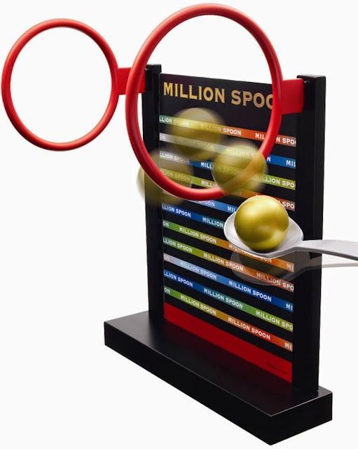 Thử thách đỡ bóng qua chiếc vòng Million Ring