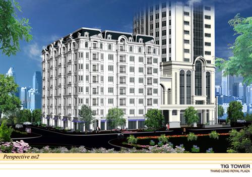Vị trí dự án Vị Trí Thăng Long Royal Plaza