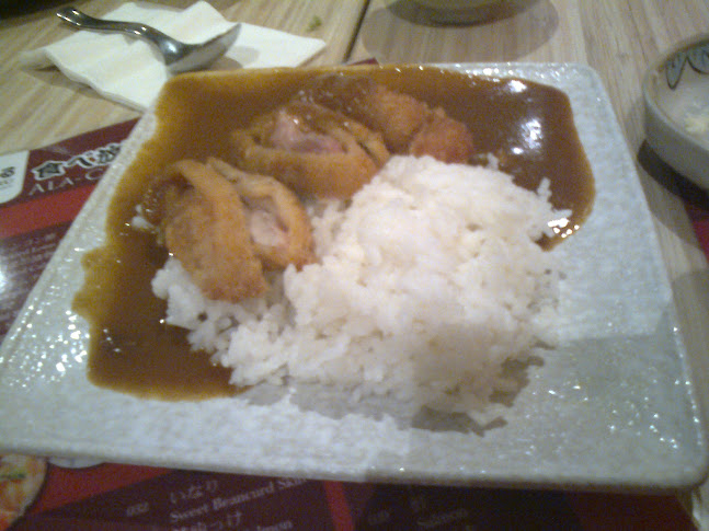 Japanese Curry w Chicken Cutlet on Rice
