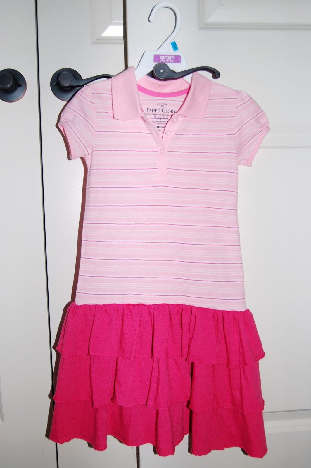 Pink Polo Shirts Walmart