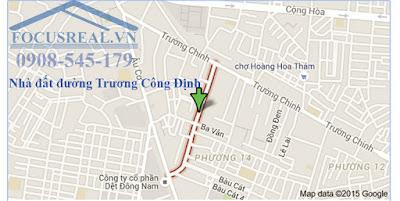 Bán Nhà Đường Trương Công Định Quận Tân Bình