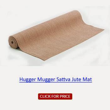 best price Hugger Mugger Sattva Jute Mat