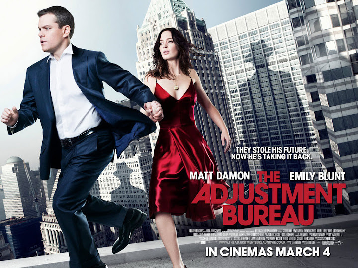 The Adjustment Bureau Movie Poster