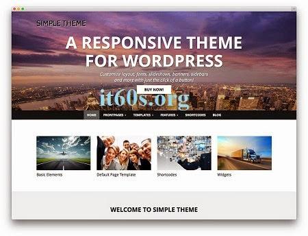 5 theme đẹp, miễn phí Responsive WordPress 2015 3