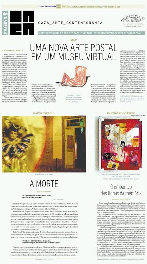Página da Caza - 30 de Novembro de 2012