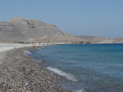 beach from Kalathos