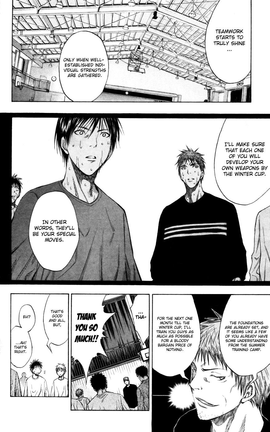 Kuroko no Basket Manga Chapter 111 - Image 18