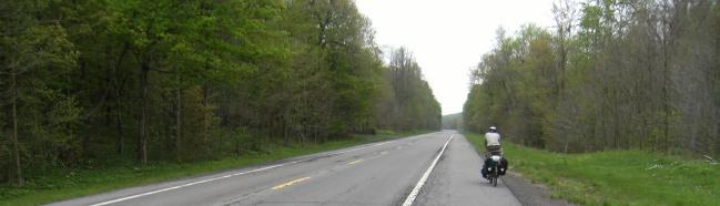 Landstraße 370 kurz vor Wolcott