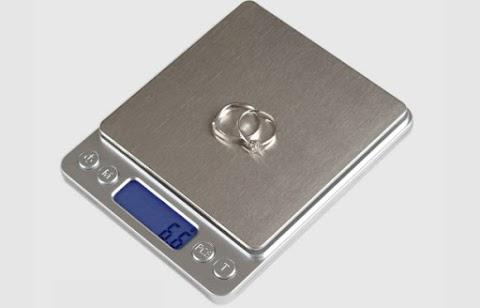 Cân tiểu ly điện tử Platform 500g x 0,01g