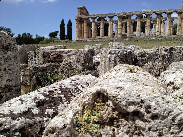 Greek temples at Paestum in Southern Italy where I lead a creativity retreat and teach people how turn lessons from history to turn ideas into innovations. Danielle Oteri - #StudyAbroadBecause It Makes You Feel Alive