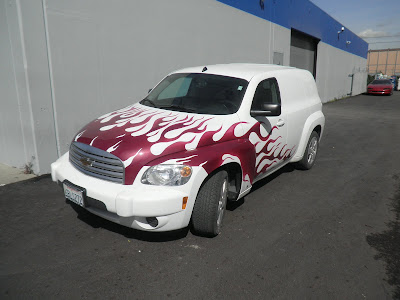 Chevy HHR after Almost Everything's custom auto paint
