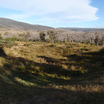 Looking into the valley from Rocky Valley camp ground