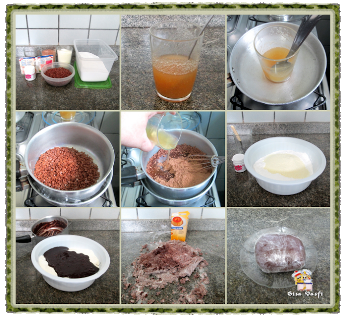 Pastas americanas de chocolate 2