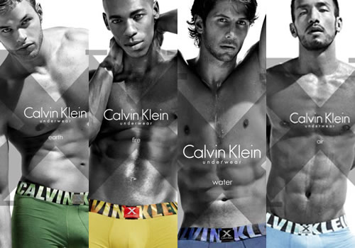 "3535f14d1f4c4a Calvin Klein unleashed their ""X UNDERWEAR"" ad campaign. The boys that shed  all their clothes last time are back, and now in technicolor."
