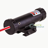 LigerÍsimo emisor de rayo laser rojo,