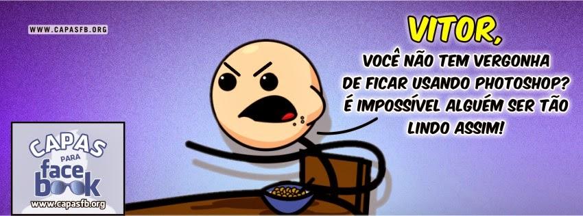 Capas para Facebook Vitor
