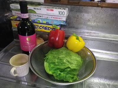 [男の料理] 最近ハマっちゃって毎日、レタス炒め !!