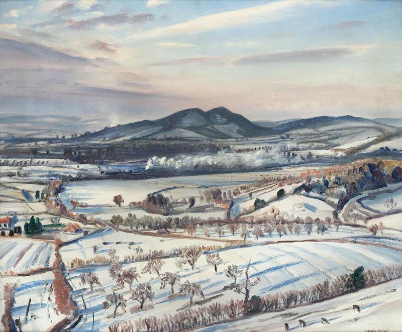 Laura Knight - Malvern Hills